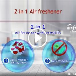 2 in 1 Air freshener
